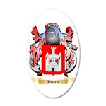 Valerio 35x21 Oval Wall Decal