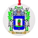 Valenza Round Ornament