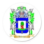 Valenza Round Car Magnet