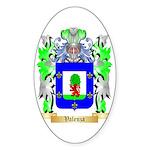 Valenza Sticker (Oval 50 pk)