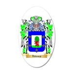 Valenza 35x21 Oval Wall Decal