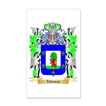 Valenza 20x12 Wall Decal