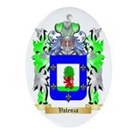 Valenza Oval Ornament