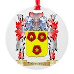 Valentinuzzi Round Ornament