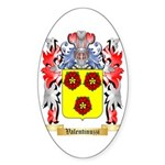 Valentinuzzi Sticker (Oval 50 pk)