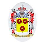 Valentinuzzi Oval Ornament