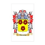 Valentino Sticker (Rectangle)