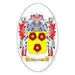 Valentino Sticker (Oval 50 pk)