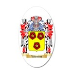 Valentino 35x21 Oval Wall Decal