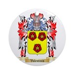 Valentinis Round Ornament