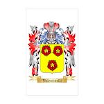 Valentinelli Sticker (Rectangle 50 pk)