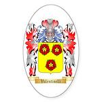 Valentinelli Sticker (Oval 10 pk)