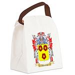 Valentine Canvas Lunch Bag
