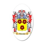 Valentin 20x12 Oval Wall Decal