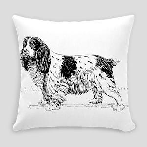 Spaniel dog Everyday Pillow
