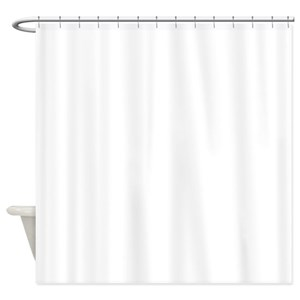 Blank Thank You Shower Curtains