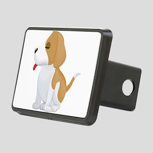 Saint Bernard dog Rectangular Hitch Cover