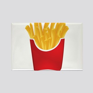 French fries art Magnets