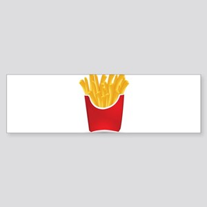 French fries art Bumper Sticker
