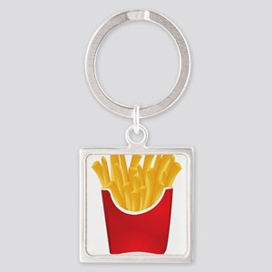 French fries art Keychains