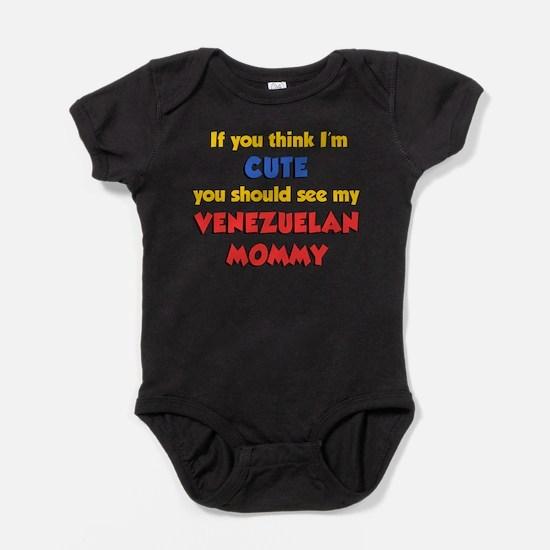 Cute Venezuelan toddler Baby Bodysuit