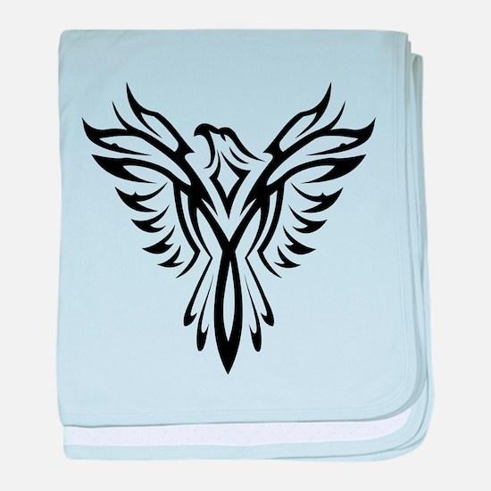 Phoenix clip art baby blanket