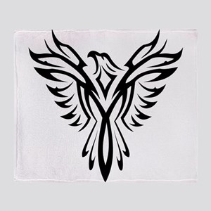 Phoenix clip art Throw Blanket
