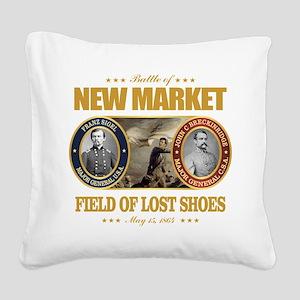 New Market (FH2) Square Canvas Pillow