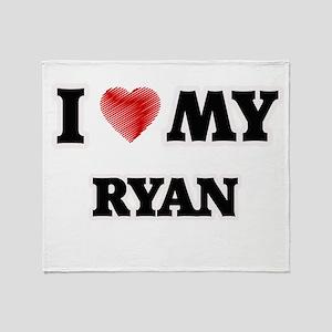 I love my Ryan Throw Blanket