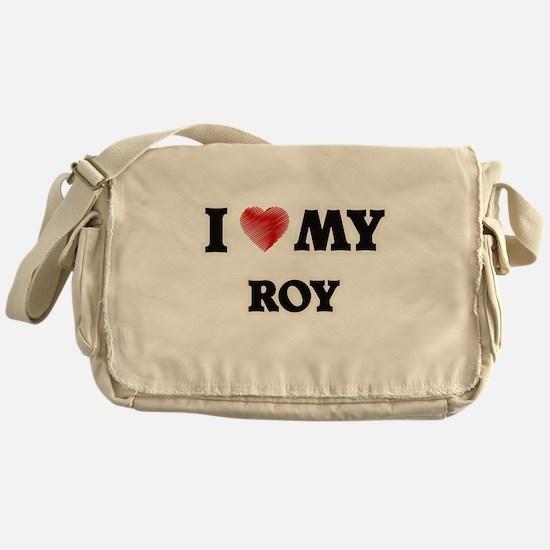 I love my Roy Messenger Bag