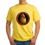 Pomeranian Dog Yellow T-Shirt