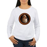 Pomeranian Dog Women's Long Sleeve T-Shirt