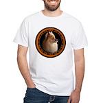 Pomeranian Dog White T-Shirt