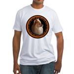 Pomeranian Dog Fitted T-Shirt