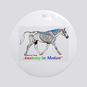 Visible Horse Ornament (Round)