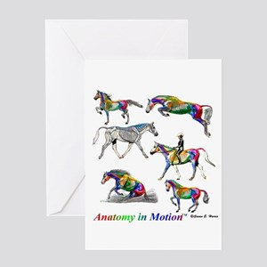 Anatomy in Motion Greeting Card