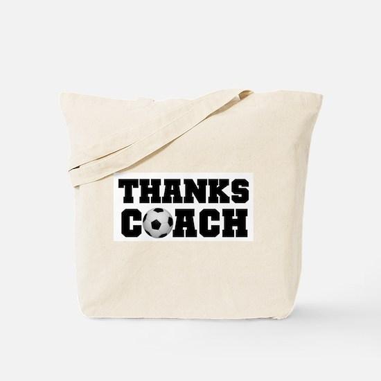 Soccer Thanks Coach Tote Bag