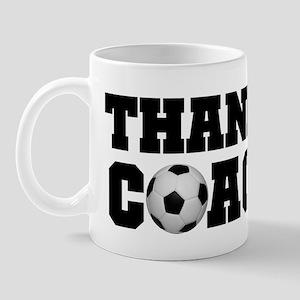 Soccer Thanks Coach Mug