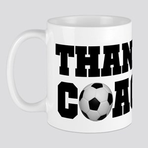 Soccer Thanks Coach Mug