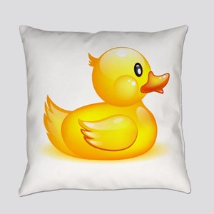 Rubber duck Everyday Pillow