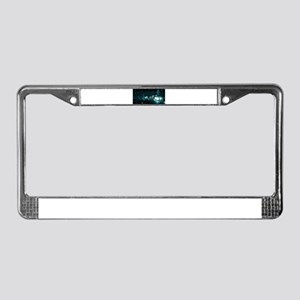 Futuristic Interfa License Plate Frame