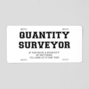 QUANTITY SURVEYOR - ILL LOO Aluminum License Plate