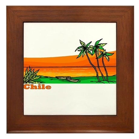 Chile Framed Tile