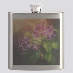 Painterly Flowers Flask