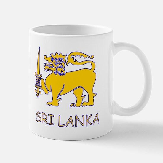 Cute Sri lanka Mug