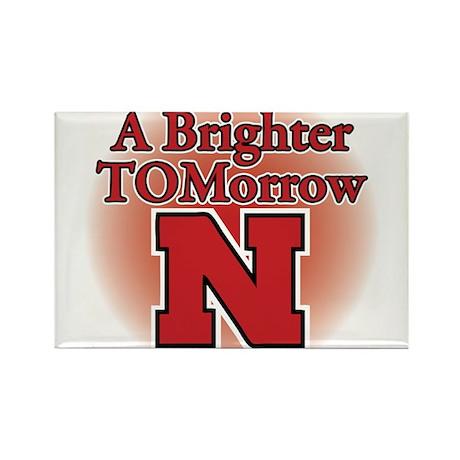 A Brighter TOMorrow for Nebraska Rectangle Magnet