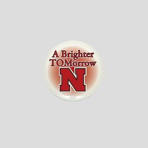 A Brighter TOMorrow for Nebraska Mini Button