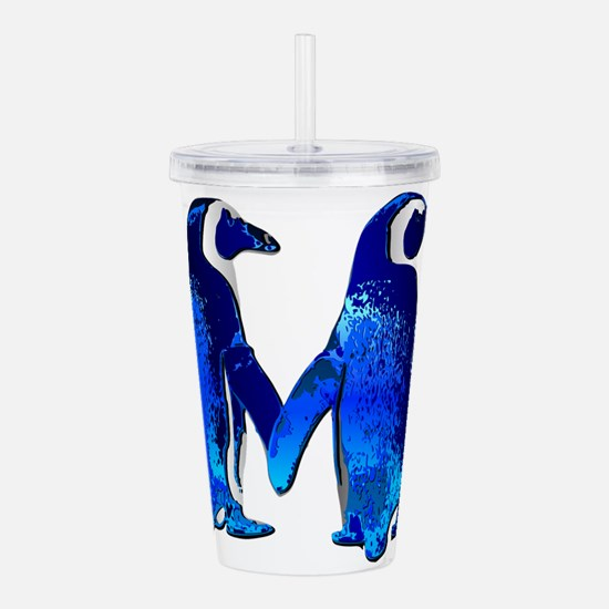 Tux love Acrylic Double-wall Tumbler