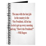 Will Rogers President Quote Journal