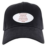 Will Rogers President Quote Black Cap